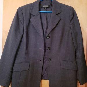 Kasper Gray Jacket subtle pattern-have slacks 2